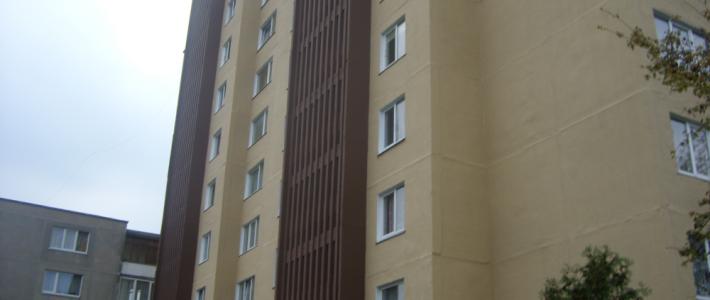 Blokinių namų siūlių remontas